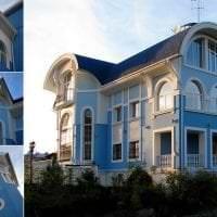 необычный интерьер загородного дома в архитектурном стиле фото