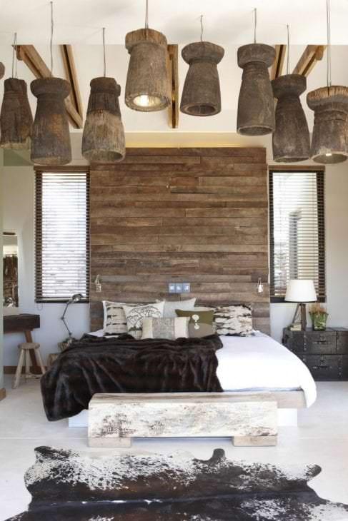 необычный интерьер квартиры в африканском стиле