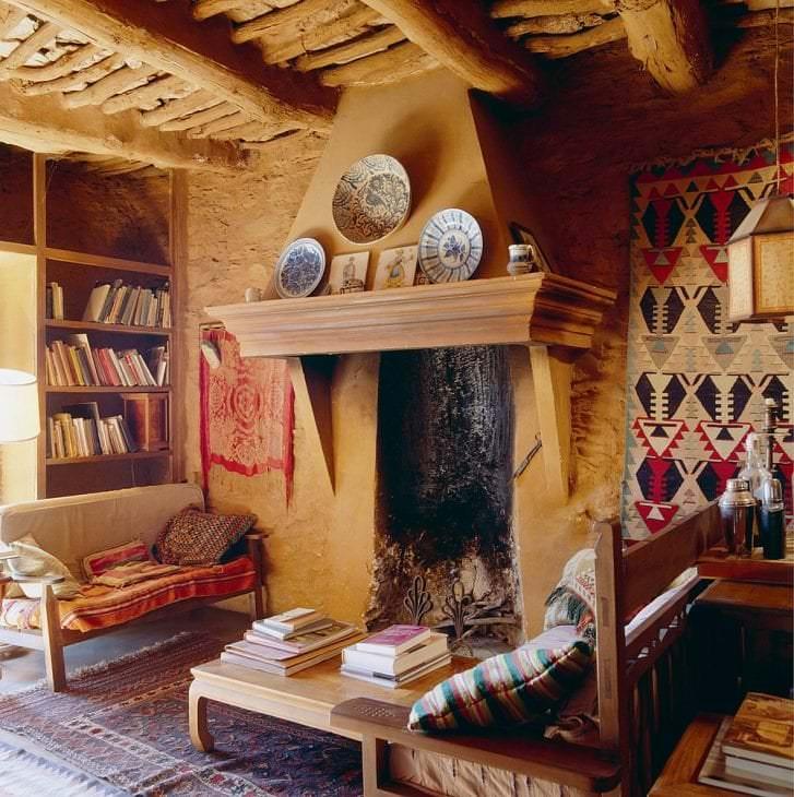 яркий стиль квартиры в этническом стиле