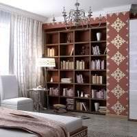 красивый дизайн гостиной в этническом стиле фото