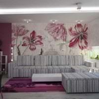 шикарный стиль спальни в различных цветах картинка