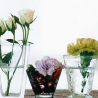 живые цветы в стиле прихожей картинка