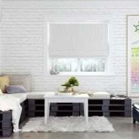 белые стены в интерьере квартиры в стиле минимализм фото