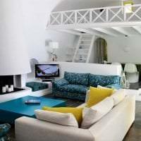 белые стены в декоре квартиры в стиле минимализм фото