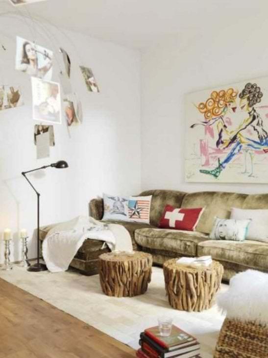 белые стены в интерьере прихожей в стиле минимализм