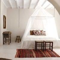 белые стены в стиле кухни в стиле скандинавия фото