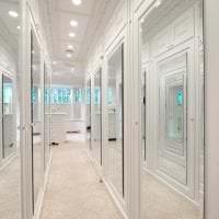 белые стены в интерьере кухни в стиле минимализм картинка