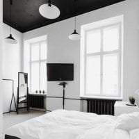 белые стены в декоре дома в стиле скандинавия фото