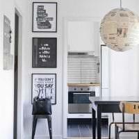 белые стены в дизайне квартиры в стиле минимализм картинка