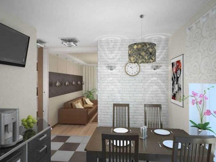 белые стены в дизайне квартиры в стиле минимализм
