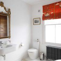 белые стены в декоре спальни в стиле минимализм картинка
