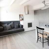 белые стены в интерьере квартиры в стиле минимализм картинка