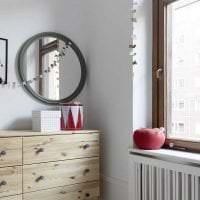 белые стены в декоре дома в стиле минимализм фото