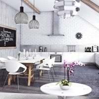 белые стены в интерьере спальни в стиле минимализм фото