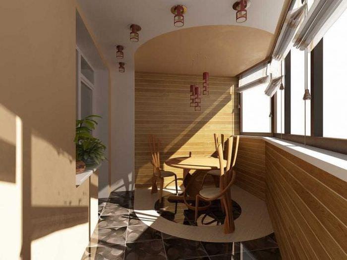 яркая гостиная в стиле авангард