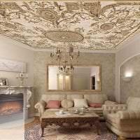 яркая спальня в стиле авангард фото