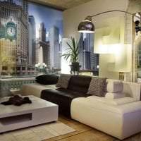 фрески в стиле квартиры с изображением природы картинка