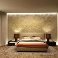 фрески в стиле спальни с изображением пейзажа картинка