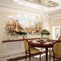 фрески в стиле квартиры с изображением природы фото