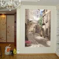 фрески в стиле прихожей с изображением пейзажа фото