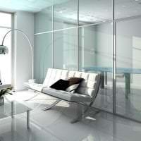 футуризм в интерьере комнаты в необычном цвете фото