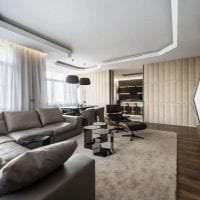 футуризм в дизайне спальни в необычном цвете картинка