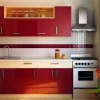 сочетание красного с другими цветами в интерьере квартиры картинка
