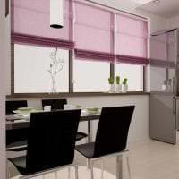 комбинирование сиреневого цвета в интерьере гостиной картинка
