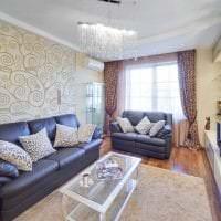 красивая спальня в стиле барокко картинка