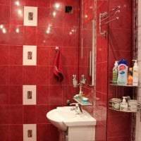 насыщенный бордовый цвет в стиле дома фото
