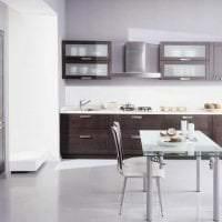 яркий стиль элитной кухни в стиле модерн фото