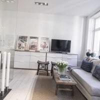 красивый декор спальни в шведском стиле фото