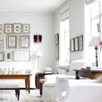светлый стиль коридора в шведском стиле картинка