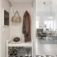 яркий дизайн гостиной в шведском стиле картинка