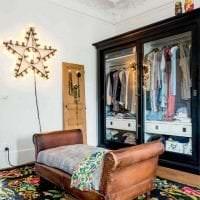 красивый декор спальни в стиле бохо фото