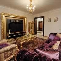 современный декор спальни в стиле рококо фото
