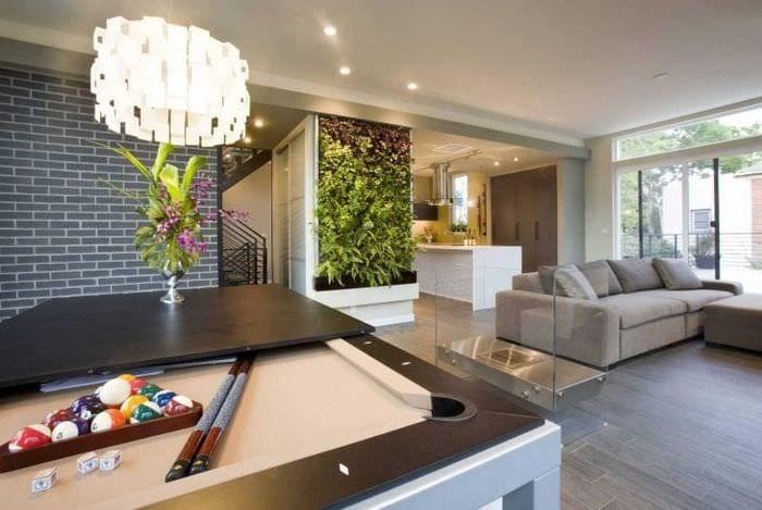 светлый стиль квартиры в стиле фьюжн