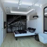яркий декор спальни в стиле гранж фото