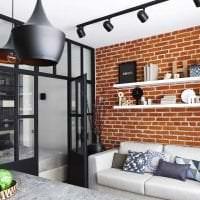 необычный дизайн квартиры в стиле лофт фото