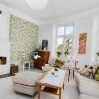 красивый декор квартиры в шведском стиле фото