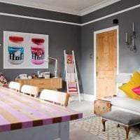 красивый стиль гостиной в стиле авангард фото
