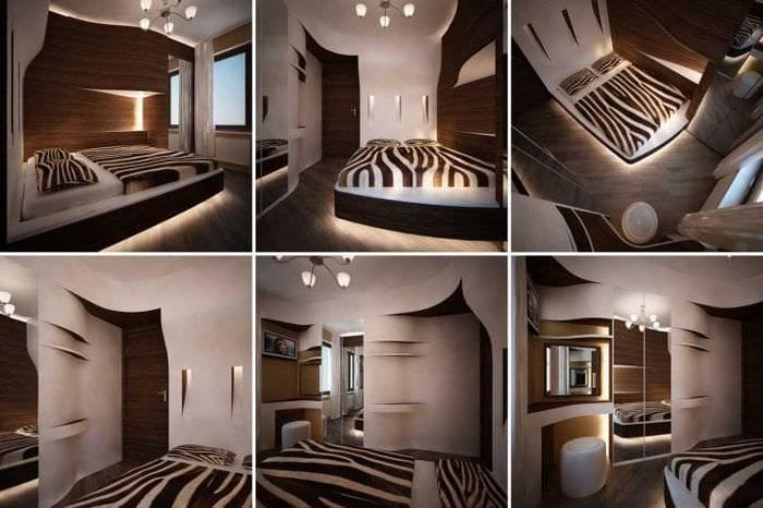 красивый эргономичный дизайн коридора