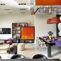 светлый декор квартиры в стиле фьюжн картинка