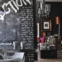 светлый интерьер гостиной в стиле фьюжн картинка