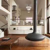 красивый дизайн квартиры в стиле авангард фото