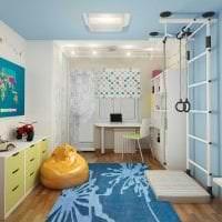 необычный декор квартиры в шведском стиле картинка