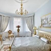необычный интерьер гостиной в стиле барокко картинка
