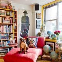красивый стиль квартиры в стиле бохо фото