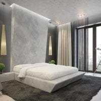красивый стиль спальни в стиле авангард картинка