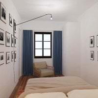 светлый стиль спальни в шведском стиле картинка